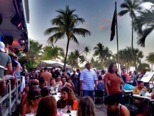 South Beach Ocean Drive in Miami Beach